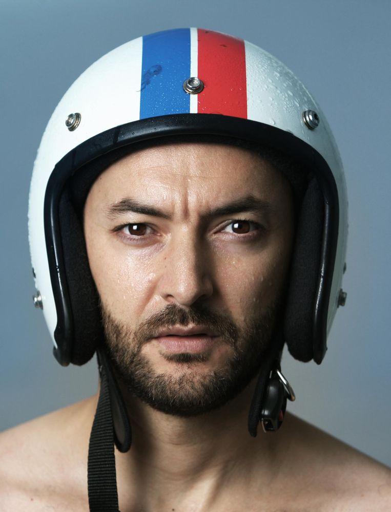 Helm van stylist Beeld Pablo Delfos