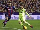 Hattrick van Lionel Messi tegen Levante