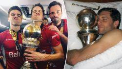 Trofee Red Lions keerde niet heelhuids terug naar België en daar zat overenthousiaste Victor Wegnez voor iets tussen