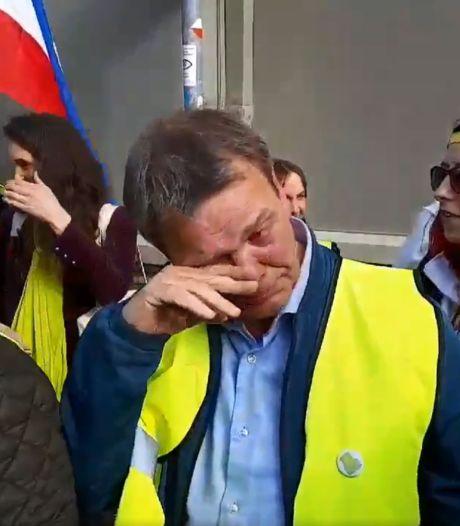 Voorman gele hesjes verlaat Torentje huilend: 'Het was een pittig gesprek'