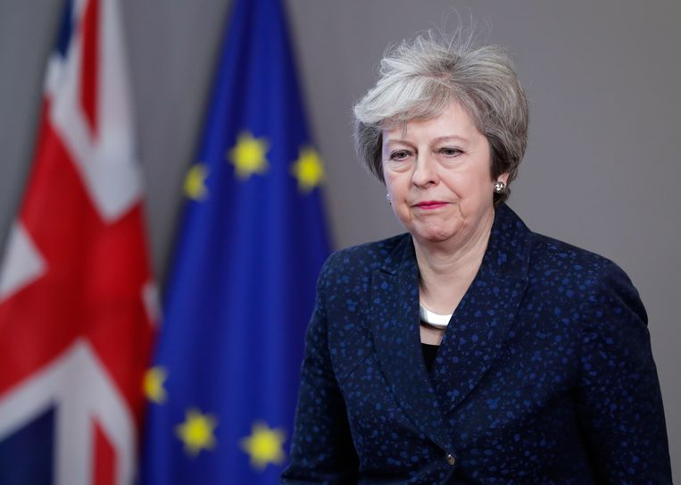 Brits premier Theresa May heeft meer tijd gevraagd voor heronderhandeling over de brexit met de EU.