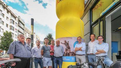 Gele trui komt naar Kortrijk Koerse