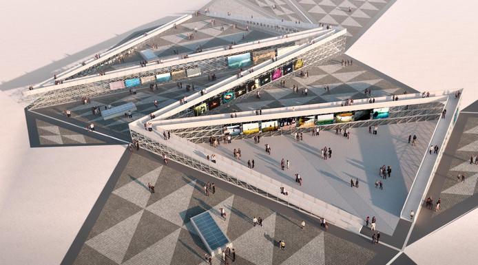 Op de Chassé Promenade, het grote plein achter het Chassé Theater in Breda, staat tijdens BredaPhoto een immens openlucht paviljoen: The Infinity Path, Een pad van ruim 500 meter lang en op sommige plekken 6 meter hoog. Ontwerp is van MVRDV, die ook De Trap in Rotterdam maakte