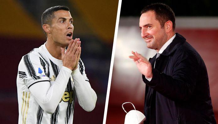 Cristiano Ronaldo et Vincenzo Spadafora.