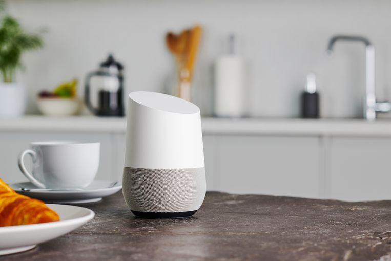 Een Google Home smart speaker. Beeld Future via Getty Images