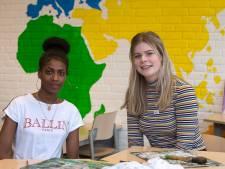 Leerlingen stappen uit eigen kring en maken kennis met jonge statushouders
