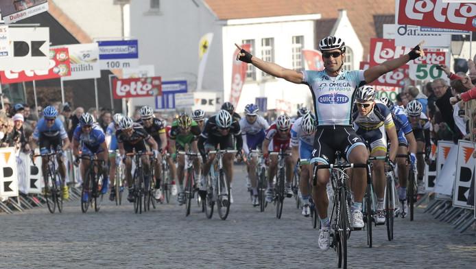 Chichi (Oméga Pharma-Quick Step), vainqueur de l'édition 2012