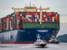 Megamax-schip HMM Gdansk arriveert vrijdag in Antwerpen