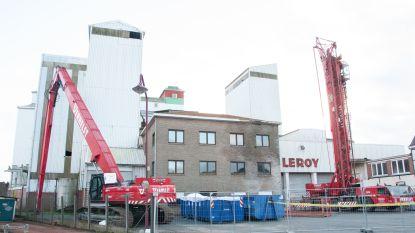 Afbraak van veevoederfabriek Leroy aan station van start: projectontwikkelaar bouwt er woningen en handelsruimtes