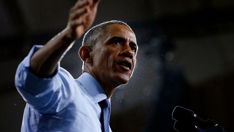 Amerikaans president Obama.