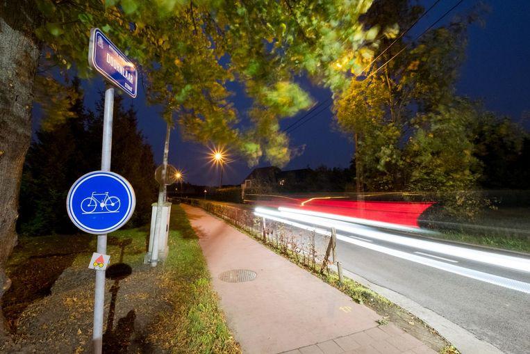 In de Doornlaarstraat in Bonheiden wordt regelmatig te snel gereden.