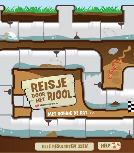 Bredase 'Robbie de Rat' verovert Europa