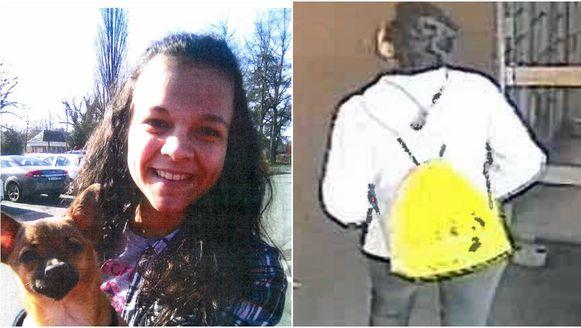 De vermiste Xenia Verhoeven.