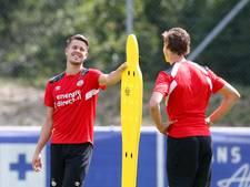 PSV traint met drie nieuwkomers
