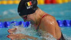 Fanny Lecluyse verovert op WK zwemmen brons op 200m schoolslag