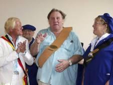 Gérard Depardieu élevé au rang de Citoyen d'honneur d'Estaimpuis