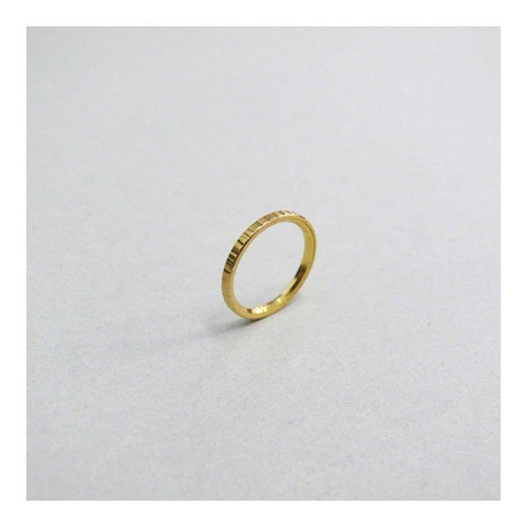 Ring van tien cent van ontwerper Lex Pott. Beeld Volkskrant