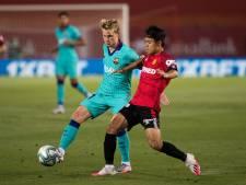 De Jong na ruim een maand terug in wedstrijdselectie FC Barcelona