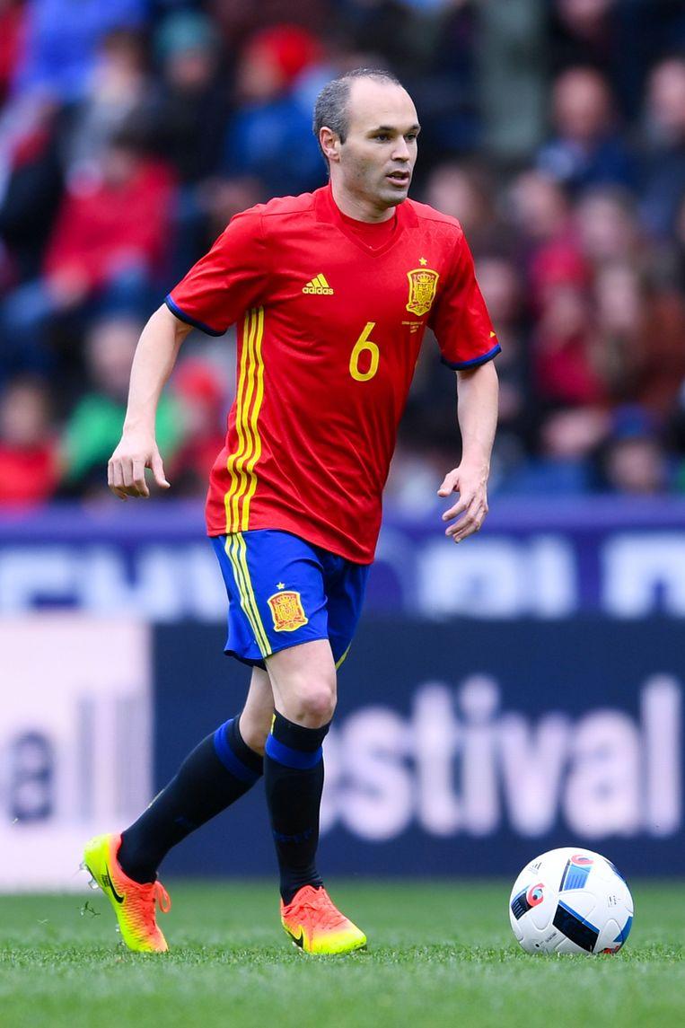 Iniesta is op 32-jarige leeftijd al een levende legende