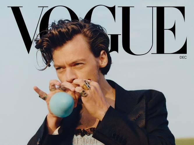 """Harry Styles siert cover van Vogue in jurk: onbegrip in VS, gejuich bij ons. """"Hiermee onderstreept hij net z'n mannelijkheid"""""""