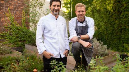 Oostenrijkse vegetarische sterrenchef Paul Ivic kookt met Seppe Nobels in Graanmarkt 13