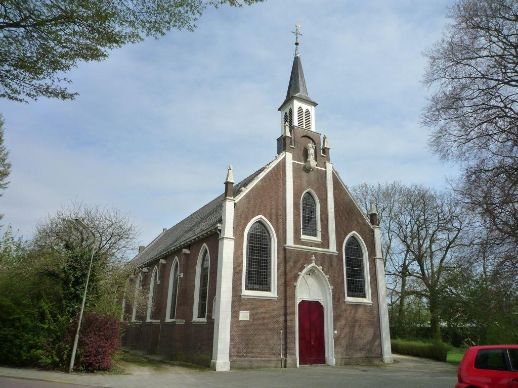 De Katholieke kerk van Ovezande.