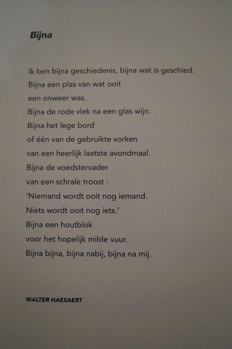 'Bijna', van Walter Haesaert
