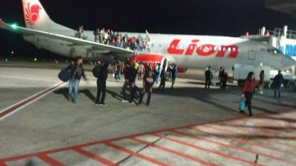 Passagiers springen uit vliegtuig na grap over bom