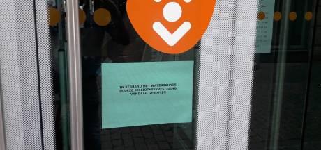 Bibliotheek in Bergen op Zoom dicht na forse wateroverlast