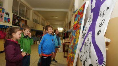Kinderen Sint-Victor ontdekken kunstenaarstalenten