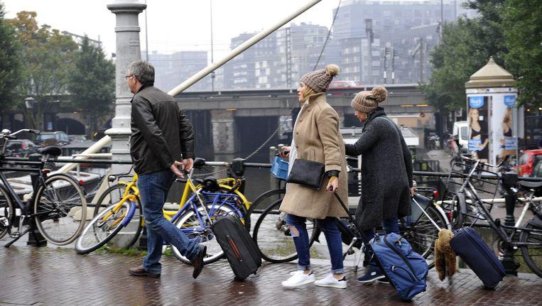Volgens Van der Sluis slaat de balans in Haarlemmerstraat door Beeld Amber Becker/Hollandse Hoogte