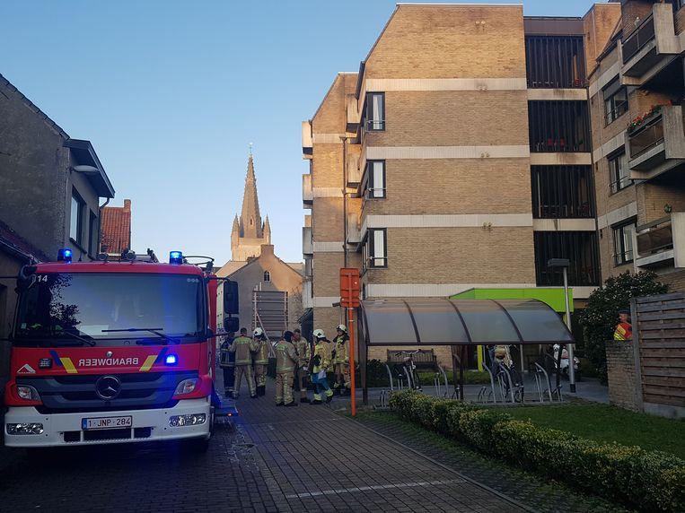 De brandweer had de rookontwikkeling in het OCMW snel onder controle.