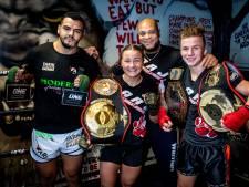 In één Haagse kickboksschool drie wereldkampioenen
