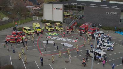#SAMENTEGENCORONA. Drone filmt warme boodschappen van inwoners Brakel