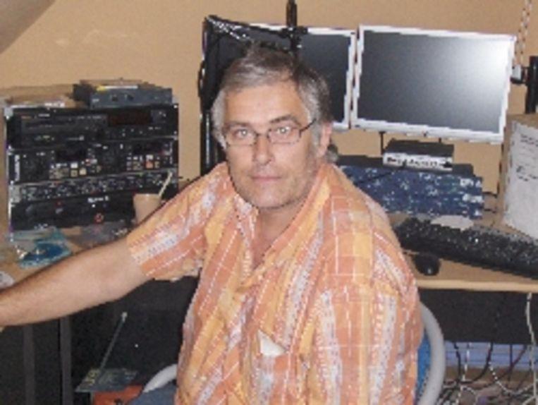 Archieffoto. Eric Strijkers (60) alias radiomaker Will De Jongh.
