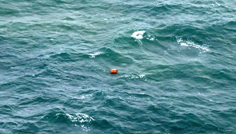Een niet-geïdentificeerd object dat door de Indonesische luchtmacht is gespot bij de kust van Pangkalan Bun in Borneo.