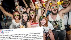 Festivalgangers boos: 'The Hive' niet meer voor iedereen toegankelijk op Rock Werchter