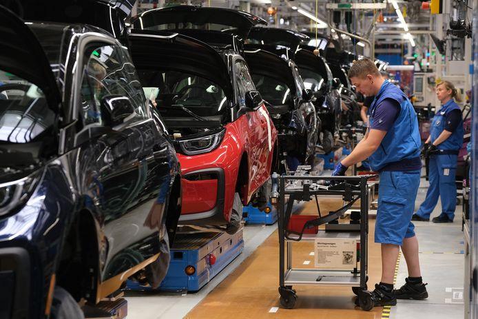Vaklieden in de autofabriek vormen het clichébeeld van de Duitse middenklasser.