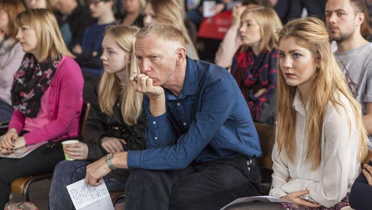 Ieren en Britten krijgen begin april voorlichting over studeren in Groningen. Na Duitsland en China levert het Verenigd Koninkrijk veel studenten. Beeld Harry Cock / de Volkskrant