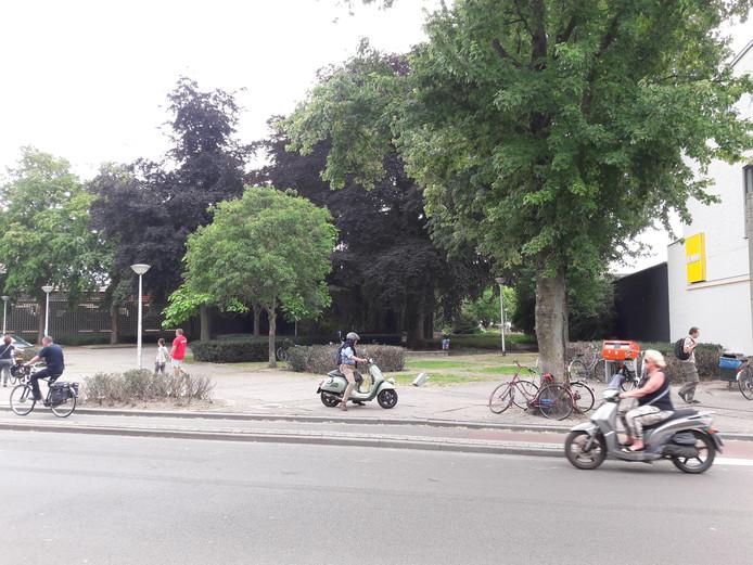 Het Zomerpark aan de Zomerstraat (foto) is via de Nazarethstraat verbonden met Stadspark  Oude Dijk.