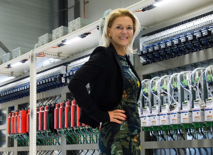 Judith Vermeulen, eigenaar van bedrijven Vekon in Made en Opera in Moerdijk.