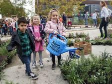 Feest bij basisschool de Bibit, de Sporckt en kinderopvang de Teddybeer: 150ste schoolplein in de maak