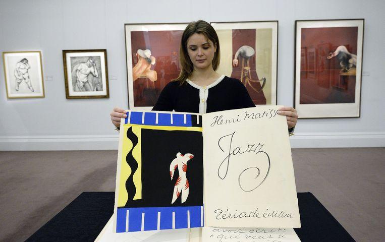 De Jazz-portfolio van Henri Matisse Beeld anp