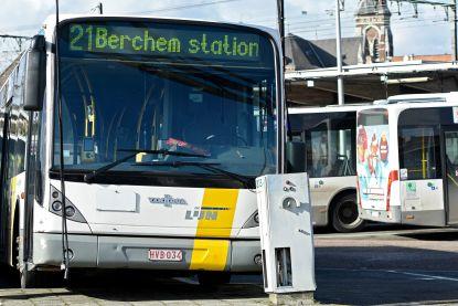 Antwerps bus- en tramverkeer morgen verstoord, waarschuwt De Lijn