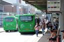 Dordrecht Qbuzz busstation 25-07-2019 Foto : Rinie Boon