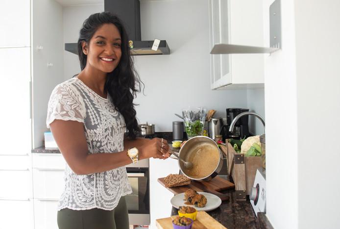 Mitu Zaman was al vegan foodblogger en gaat nu ook veganistische kookworkshops geven in Zwolle.
