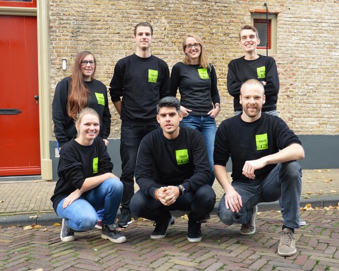 De jongerenwerkers van The Mall Gorinchem.