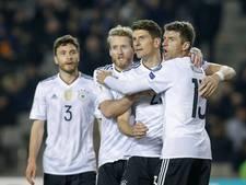 Duitsland en Tsjechië boeken eenvoudige overwinningen