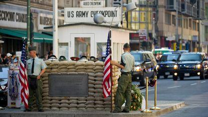 'Neppe' Amerikaanse soldaten niet meer welkom aan Checkpoint Charlie in Berlijn