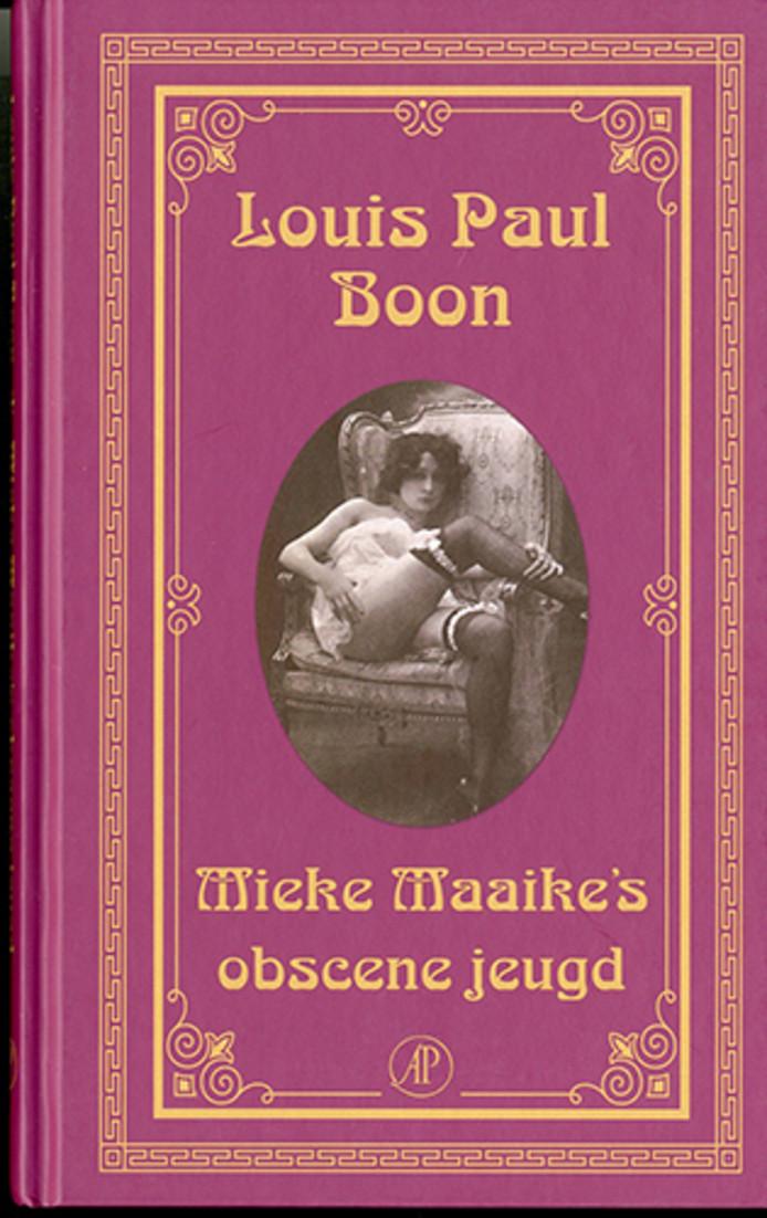Vintage erotische literatuur van Louis Paul Boon uit de nieuwe expo 'Porno, Pulp en Literatuur'.